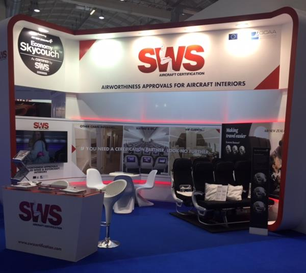 A successful week for SWS at the Hamburg Aircraft Interiors ExpoApril 12th, 2016
