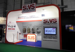 SWS exhibit @ Hamburg's Aircraft Interiors Expo' 2013April 26th, 2013
